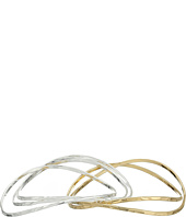 Robert Lee Morris - Two-Tone Bangle Bracelet Set
