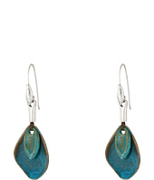Robert Lee Morris - Patina Petal Drop Earrings