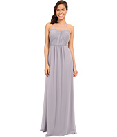 Faviana - Chiffon Gown with Illusion Sweetheart Neckline/Rouched Bodice & Keyhole Back 7774