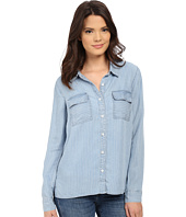 Splendid - Faded Pinstripe Shirt