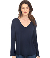 Splendid - Rayon Jersey Long Sleeve Tee