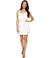 U.S. POLO ASSN. - Dot Print Tie Back Sun Dress