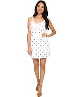 U.S. POLO ASSN. - Dot Print Tie Back Sun Dress