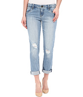 KUT from the Kloth - Adele Slouchy Boyfriend Jeans in Touch w/ New Vintage Base Wash