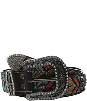 M&F Western - Aztec Embroidered Spiral Wheel Concho Belt