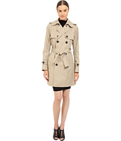 DSQUARED2 - Cotton Twill Trench Coat