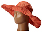 RBXL291 6 Inch Brim Gold Shimmer Ribbon Hat with Wired Sun Brim