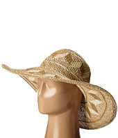 San Diego Hat Company - PBL3069 Open Weave Mixed Colored Pattern Floppy Hat