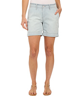 Jag Jeans - Albany Shorts in Lightweight Striped Denim in Bleach