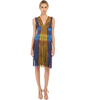 M Missoni - Fringe V-Neck Dress