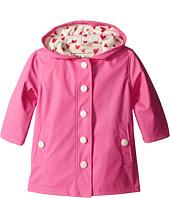 Hatley Kids - Pink & Cream Hearts Splash Jacket (Toddler/Little Kids/Big Kids)