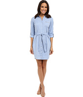 NYDJ - Kaylin Chambray Shirt Dress