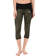 adidas - Performer Mid-Rise 3/4 Tights – Poison Ivy Print