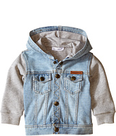 Dolce & Gabbana Kids - Denim/Sweat Hoodie (Infant)