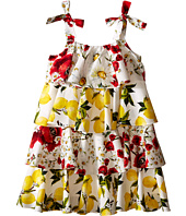 Dolce & Gabbana Kids - Margherita Ruffle Dress (Big Kids)