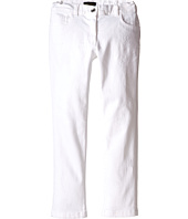 Dolce & Gabbana Kids - Denim Pants in White/Denim (Big Kids)