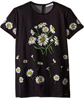 Dolce & Gabbana Kids - Margherite Jersey T-Shirt (Big Kids)