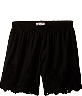 Ella Moss Girl - Bria Shorts w/ Schiffili Embellishment (Big Kids)