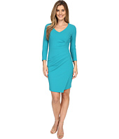 NYDJ - Rosella Stretch Crepe Drape Dress