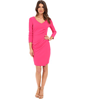 NYDJ - Rosella Stretch Crepe Drape Dress