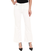 Paige - Classic Milo Cropped Flare in Optic White
