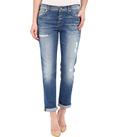 7 For All Mankind - Josefina w/ Destroy in Bright Bluebell