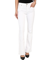 7 For All Mankind - Tailorless Bootcut w/ Released Hem in White
