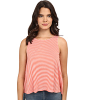 Jack by BB Dakota - Halen Yarn Dye Stripe Rayon Buttoned-Back Top
