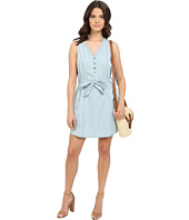 Jack by BB Dakota - Jacomina Washed Chambray Snap Front Dress