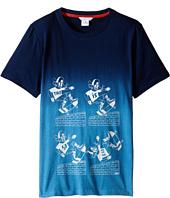 Little Marc Jacobs - Jersey Tee Shirt Dip Dye (Big Kids)