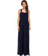 Donna Morgan - Bailey Draped Side Strapped Gown