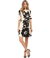 Christin Michaels - Celeste 3/4 Sleeve Flare Dress