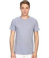 Vince - Cotton Slub Fabric Blocket Short Sleeve Raglan