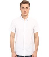 Vince - Stretch Square Hem Short Sleeve Manhattan Shirt