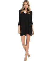 Michael Stars - 3/4 Sleeve V-Neck Dress