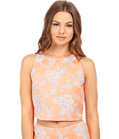 BB Dakota - Reece Floral Jacquard Top