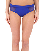 DKNY - Mesh Effect Mesh Splice Hipster Bikini Bottom