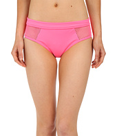 DKNY - Mesh Effect Mesh Splice Hipster Bikini Bottom