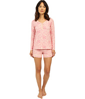 BedHead - Long Sleeve Sweetheart Shorts Pajama Set