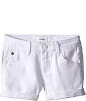 Hudson Kids - 2 1/2 Roll Shorts in White (Big Kids)