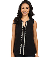 Dylan by True Grit - Folklore Tunic w/ Natural Jute Embroidery