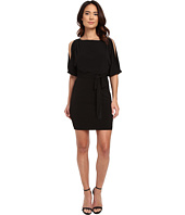Jessica Simpson - Boat Neck Ity Dress with Self Sash
