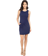 Susana Monaco - Sleeveless Pocket Shift Dress