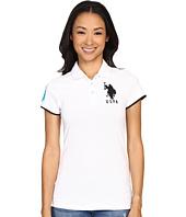 U.S. POLO ASSN. - Contrast Patch Big Pony Polo