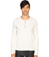 Vince - Sporty Jaspe Mix-Stitch Henley