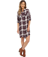 Brigitte Bailey - Abelle Slouchy Plaid Dress