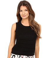 Kate Spade New York - Open Stitch Sleeveless Sweater