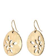 The Sak - Pierced Metal Drop Earrings