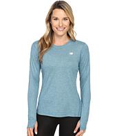 New Balance - Heathered Long Sleeve Shirt
