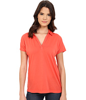 Three Dots - Cap Sleeve Polo